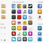 Linux - Moka – um agradável conjunto de ícones para Linux.