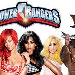 Diversos -  Power Rangers versão cantoras da pop music!