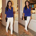 Moda & Beleza - Looks com calça branca