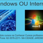 Faça cursos de windows e internet