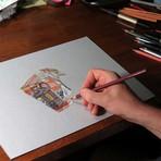 Pintura - Os desenhos hiper-realistas de Marcello Barenghi