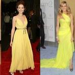 Moda & Beleza - Vestidos de festa Amarelo na moda 2014