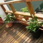 Arquitetura e decoração - Reciclagem: cruzetas de madeira