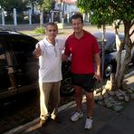 """Esportes -  Eu Charles Netto mesmo com o meu Vizinho Dunga. E com certeza sempre será o """"Capitão Dunga da Seleção Brasileira""""..."""