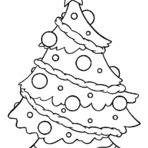 Diversos - Modelos de Árvore de Natal Para Imprimir