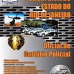 Concursos Públicos - Apostila Oficial De Cartório Policial - Concurso Polícia Civil / RJ