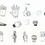 Pintura - Aprenda a Desenhar - Desenhando as Mãos