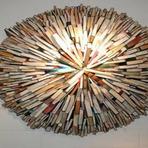 Livros - 13 esculturas feitas exclusivamente com livros