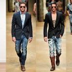 Moda & Beleza - Calça jeans com blazer.