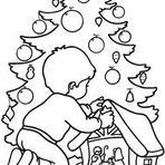 Pintura - Veja excelentes desenhos de arvores de natal para colorir