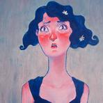 Pintura - Júlia Balthazar: sua arte está se desenvolvendo com ela.