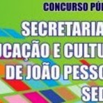 Concursos Públicos - APOSTILA SEDEC (Prefeitura) de João Pessoa 2014 Secretaria de Educação e Cultura - Clique aqui