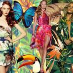 Moda & Beleza - Roupas com estampas tropical verão 2014