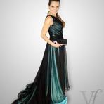 Moda & Beleza - Vestidos longos de seda modelos festa