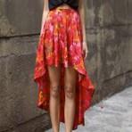 Moda & Beleza - Como Usar a Saia Mullet Estampada?