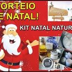 Promoções - Sorteio de Natal: Kit Natal Natural