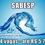 SABESP - 624 vagas - até R$ 5.763,00