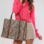 Promoções - Bolsa Feminina New Snake Sophia Gomes Vekoni Store Arremate R$1,00