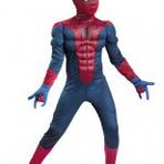 Fantasia Infantil Homem Aranha com Músculos