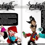 Apostila de Grafite - Aprenda a desenhar letras e personagens estilizados