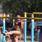 Esportes - Academirua, malhação e ginástica ao ar livre