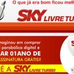 Tecnologia & Ciência - SKY LIVRE TURBO - 96 canais sem mensalidade, clique e conheça