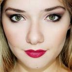 Moda & Beleza - Tutorial de Maquiagem Look Neutro + Batom vinho.