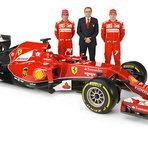 Fórmula 1 - Ferrari revela F14 T para a temporada de 2014 da F-1