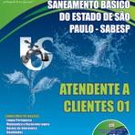 Apostila Concurso SABESP para o Cargo de ATENDENTE A CLIENTES 01