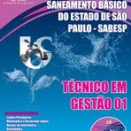 Apostila Concurso SABESP para o cargo de TÉCNICO EM GESTÃO 01