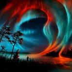 Pintura - Pinturas Digitais de Céus e Tempestades Fantásticas