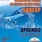 Apostila Concurso SABESP  APRENDIZ - CD GRÁTIS