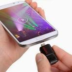 Utilidade Pública - Pendrive para smartphones e tablets é lançado no Brasil