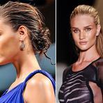 Moda & Beleza - Cabelos com Efeito Molhado Moda 2014
