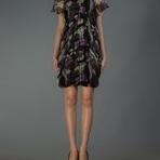 Moda & Beleza - Vestido de festa estampado curto inspirado em Marina Ruy Barbosa