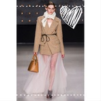 Moda & Beleza - Transparência nas saias