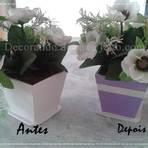 Como restaurar seu vaso de flores