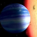 Água encontrada na atmosfera de planeta próximo (com video)