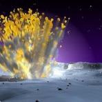 Veja o embate de um enorme asteróide na Lua (com videos)