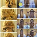 Moda & Beleza - Dica de Hair: 12 Tutorias de Penteados