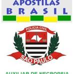 Apostila concurso polícia civil pc sp 2014 auxiliar de necropsia atualizada