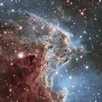 Espaço - Astrofoto: Nebulosa da cabeça do macaco