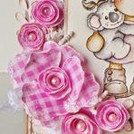Como fazer flores de tecido.