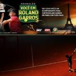 diHITT & Você - Sky HDTV: Promoção : Você em Roland Garros !