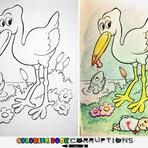 Pintura - Livros de Colorir: Vê o que Acontece Quando os Adultos os Pintam