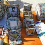 Arte & Cultura -  A arte na reciclagem do papel!