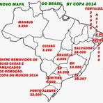 Internacional - Visão do Mapa do Brasil By Copa do Mundo 2014