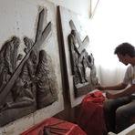 Arte & Cultura - Artesãos de Porto União mostram a arte através da argila