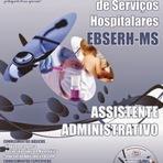 Utilidade Pública - Apostilas para Concurso EBSERH-MS 2014