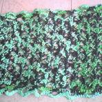 Hobbies - Tapete Pia Firenze em Crochê 100% de Sacolas Plásticas